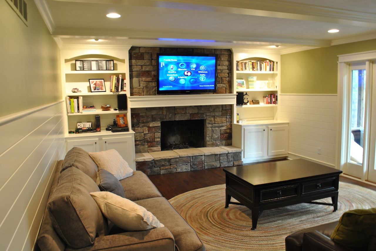 Family Room – Carmel, 2010