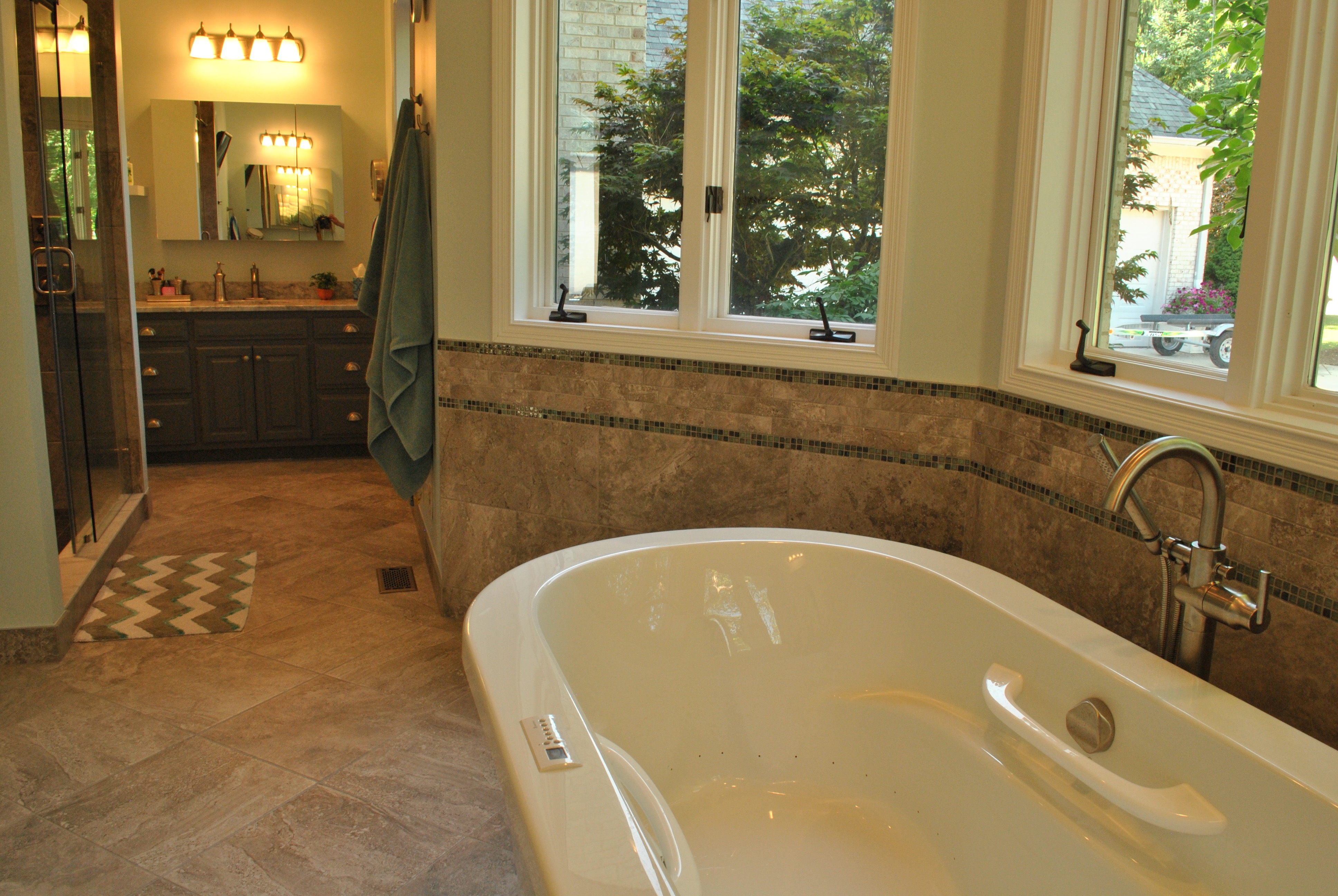 Zionsville Bathroom Remodel master bath – indianapolis, 2015 - the homewright