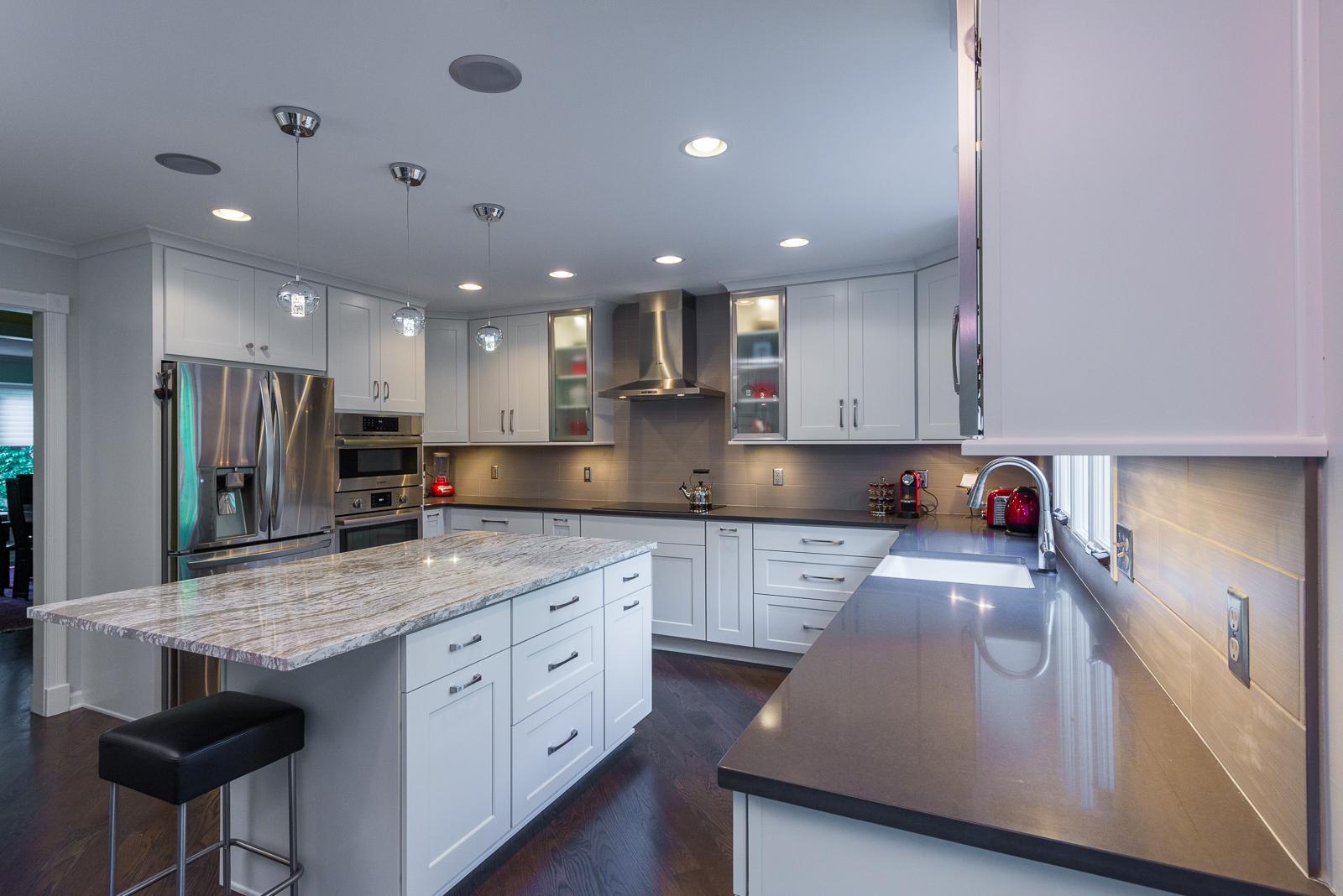 Kitchen and First Floor Updates Carmel 2016